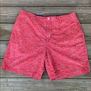 Vineyard Vines Flat Front Shorts. 36